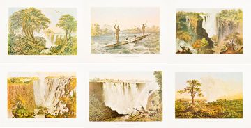 Thomas Baines; The Victoria Falls, Zambezi River, 6