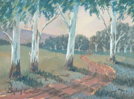 Sydney Carter; A Road Winding Through Gum Trees