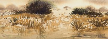 Walter Westbrook; Winter Landscape