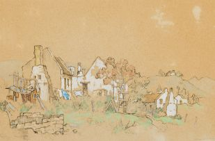 Gregoire Boonzaier; Cottages near Swellendam