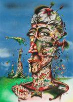 Norman Catherine; Self Portrait