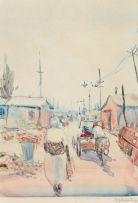 Durant Sihlali; Street Scene, Kliptown, Soweto