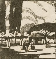 Clément Sénèque; An Old-Fashioned Garden