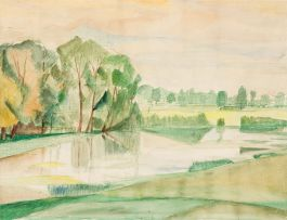 Maud Sumner; Summer Landscape