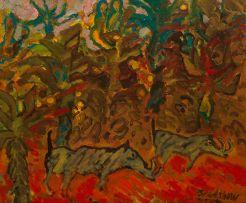 Brian Bradshaw; Warthogs in the Bush