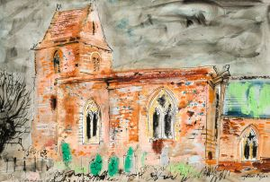 John Piper; Cold Higham, Northamptonshire