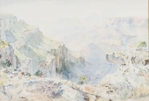 Patricia Mary Vaughan; Blyde River Canyon (Near Pilgrim's Rest)