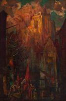 John Henry Amshewitz; A Historical Scene