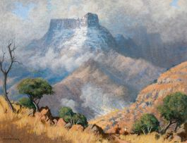 Willem Hermanus Coetzer; Riders in the Foothills, Drakensberg