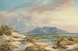 Gabriel de Jongh; Old Table Bay 1954