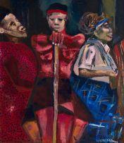 Nhlanhla Xaba; Three Figures