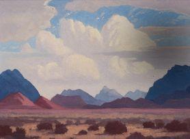 Jacob Hendrik Pierneef; The Brandberg, SWA