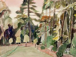 Maud Sumner; Eathorpe Gardens