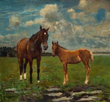 Frans Oerder; Mare and Foal