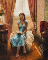 Marié Vermeulen-Breedt; Woman Reading