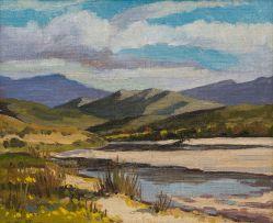 David Botha; Landscape with River