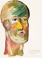 Christo Coetzee; Head in Pink
