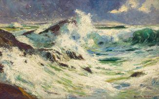 Adriaan Boshoff; Crashing Waves