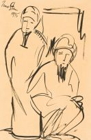 Irma Stern; Two Arabs