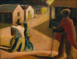 Gerard Sekoto; The Pink Road