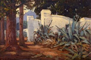 Hugo Naudé; Old Gates at Paarl