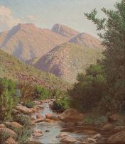 Jan Ernst Abraham Volschenk; Near the Source of the Vette River, Riversdale