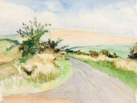 Maud Sumner; Road through the Countryside