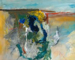 Fred Schimmel; Abstract Landscape, No. 1054