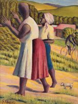 Gerard Sekoto; Women in the Country