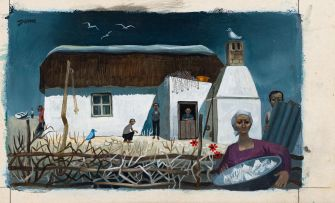 Normand Dunn; Fisherman's Cottage