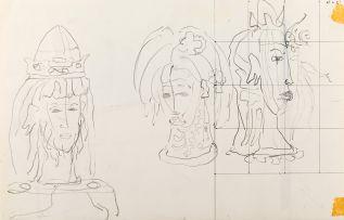 Alexis Preller; King Study