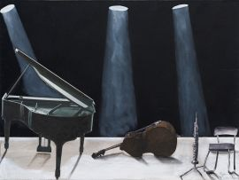 Sam Nhlengethwa; Intermission, Ode to Keith Jarrett