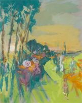 Marjorie Wallace; Luncheon on the Grass