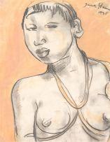 Irma Stern; Portrait of a Swazi Woman