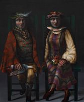 Karin Jaroszynska; Seated Couple