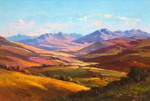 Tinus de Jongh; Extensive Landscape