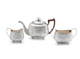 A Scottish silver teapot, James McKay, Edinburgh, 1810