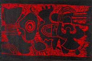Lucky Sibiya; Red and Black