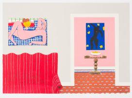 Sam Nhlengethwa; Tribute to Henri Matisse