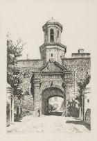 Tinus de Jongh; Cape Town Castle