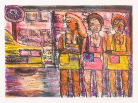 David Koloane; Three Sisters