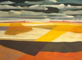 Erik Laubscher; Summer Afternoon Sky