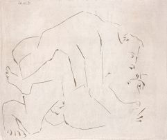 Pablo Picasso; L'Etreinte, I
