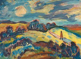 Stefan Ampenberger; A Figure in an Extensive Landscape