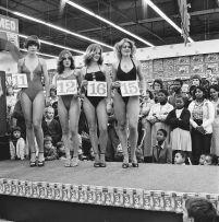 David Goldblatt; Saturday Morning at the Hypermarket: Semi-final of the Miss Lovely Legs Competition, Boksburg June 28, 1980