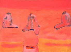 Robert Hodgins; Stones in a Pink Field