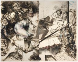 Diane Victor; Indemnities for Late Believers, diptych