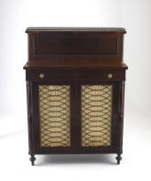 A Victorian rosewood chiffonier