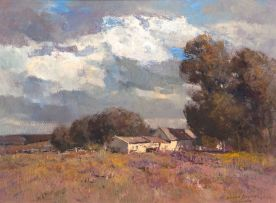 Errol Boyley; Landscape with Farmhouse