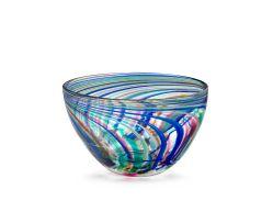 A Shirley Cloete glass bowl